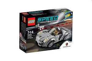 LEGO® Speed Champions Porsche 918 Spyder meteor grau