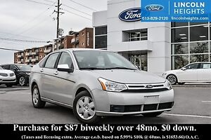 2009 Ford Focus SE SEDAN - HEATED SEATS