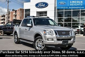 2009 Ford Explorer Sport Trac LIMITED 4.0L 4WD - LEATHER - BLUET