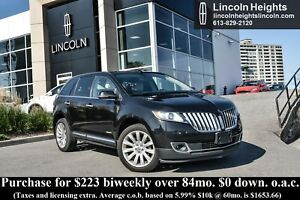 2015 Lincoln MKX AWD - LEATHER - BLUETOOTH - NAV - BLIND SPOT MO