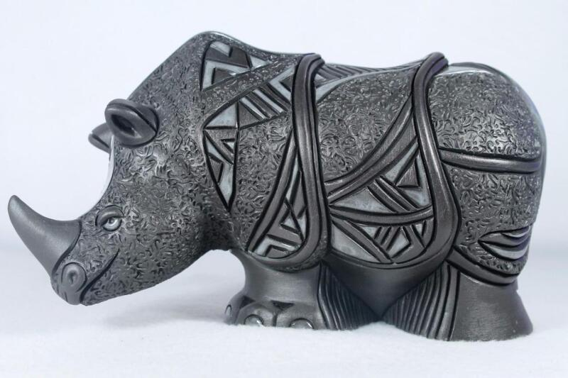 De Rosa - Nero Collection - Rhino Figurine