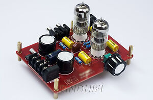 Buffer 6N3 Tube Preamp Pre-Amplifier based on Matisse circuit with transformer