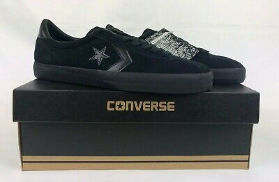 Converse All Star Break Point Black Suede Skateboarding Shoes Sz 9.5 NIB 153988C