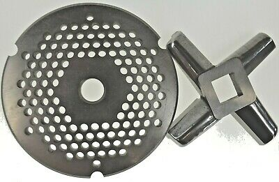 32 X 316 Stainless Meat Grinder Plate Heavy Duty Knife For Hobart Biro