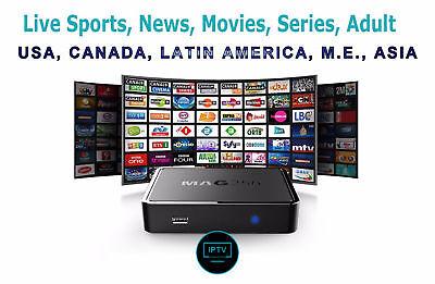IPTV PREMIUM SUBSCRIPTION 8,000 CHANNELS & VOD - 1 MONTH