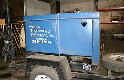 Miller Big Blue 400d Diesel Welder - Air Cooled Engine