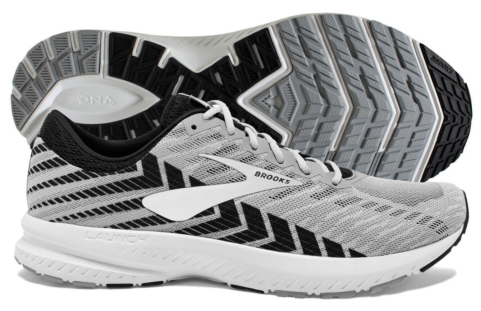 Brooks Launch 6 Men's Alloy/Black/Grey running shoe, multi
