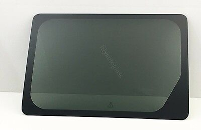 Fit 10-13 Ford Transit Connect Driver Side Left Rear Sliding Door Window Glass