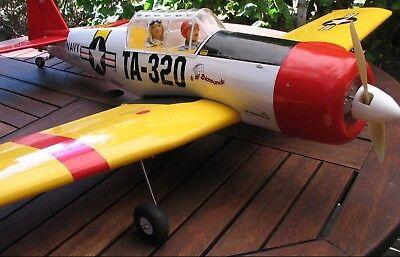 AT-6     Texan  von Seagull - noch nicht geflogen!
