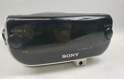 Sony Dream Machine FM/AM CD Dual Alarm Clock Radio ICF-CD815 DREAM-MACHINE