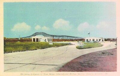 Sarnia Ontario Canada Blue Water International Bridge Entrance Used 1946