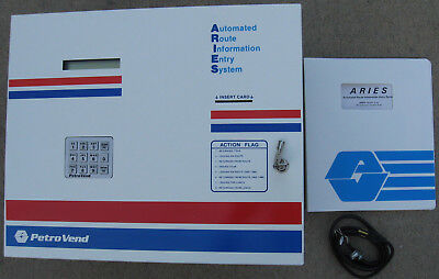 Petrovend Petro Vend Aries Pv213b 4007 Automated Route Information Entry System