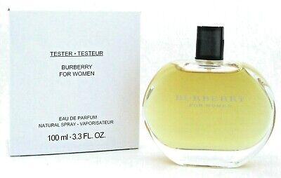 Burberry For Women Perfume by Burberry 3.3 oz. Eau de Parfum Spray. Tester.