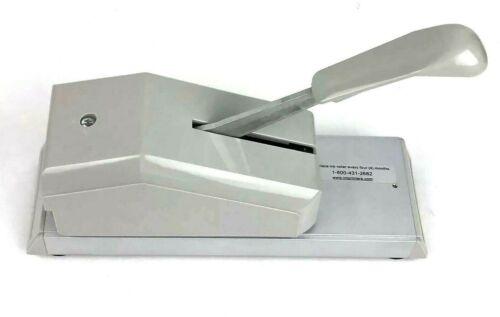 Addressograph Bartizan 871 Pump Handle Credit Card Imprinter