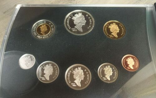 2002 Canadian Proof Coin Set - Golden Jubilee - Royal Canadian Mint