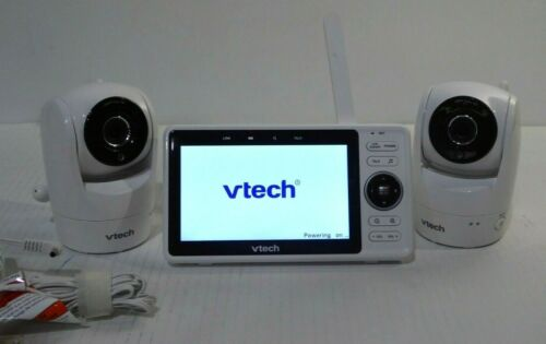 VTech RM5762-2 Wi-Fi Baby Monitor with TWO Cameras 1080p HD Pan & Tilt Video