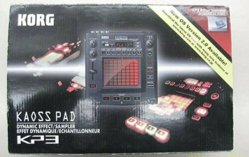 Used Kaoss Pad KP3 KORG DJ Sampler Dynamic Effector with AC Adapter Manual Box
