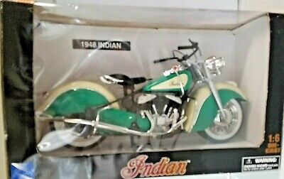 1:6 NEW RAY1948 INDIAN MOTORCYCLE DIECAST MOTORBIKE DIECAST MODEL TOY REPLICA