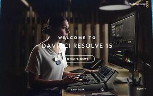 Blackmagic Davinci Resolve 15 Studio (Dongle)