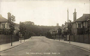 Grange Park near Winchmore Hill. The Grangeway.