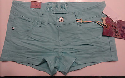 Truce Denim Sea Blue Ladies Shorts Juniors Sizes 1, 3, 5, 7, 9