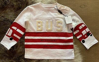 Burberry Children Bus Theme Shirt Top Size 18 Months
