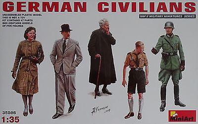 MINIART #35086 WWII German Civilians Figuren in 1:35