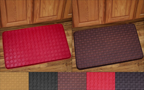 Kitchen Floor Mat Rug 30″ x 18″ Memory Foam Anti Fatigue Playa or Diamond Door Mats & Floor Mats