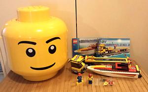 LEGO Head Storage & Lego City Windsor Gardens Port Adelaide Area Preview