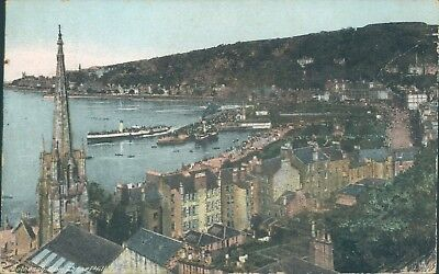 Rothesay from chapel hill  Chas L Reis