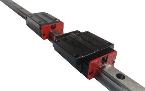 HG20 20mm Linear Rail Guide Actuator CNC 750 1000 1500 mm 1M 1.5M HGR20 US HGH20