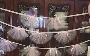 Tutu banners  for baby shower or child  birthday party