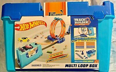 Hot Wheels Track Builder System Multi Loop Box #FLK90 1:64 Scale
