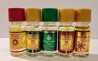 Bath & Body Works White Barn The Perfect Christmas Home Fragrance Oil You Pick ()