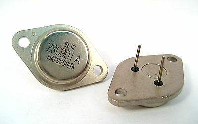 2SC901A: NPN Transistors Horizontal Deflection TO-3: 2/Lot: Best Price on