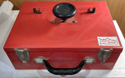 Ohmite RRS8R0 0-8 Ohm, 500W, 1450V, Portable Rheostat in Case, w/Cables