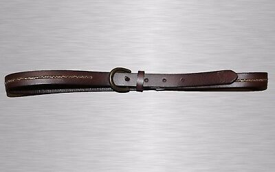 New Abercrombie Kids Girls Leather Belt Size L/XL