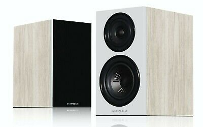 Wharfedale Diamond 12.1 Speakers PAIR - Light Oak Bookshelf Loudspeakers