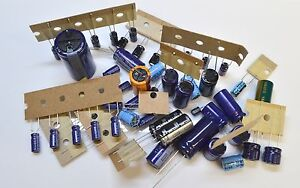 ELECTRONIC COMPONENTS ASSORTMENT -   ELECTROLYTIC CAPACITORS - PACK OF 50