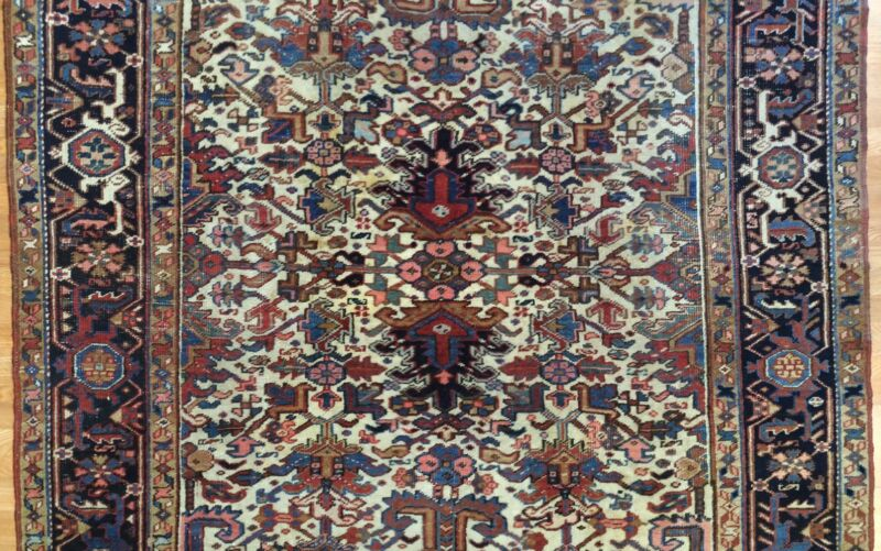 Gorgeous Gorovan - 1940s Antique Tribal Rug - Oriental Carpet - 6.6 X 8 Ft.