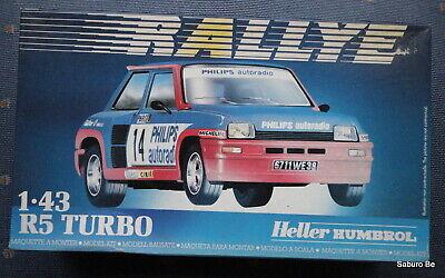 Heller  1/43  R5 Turbo 1983 Monte Carlo 80150