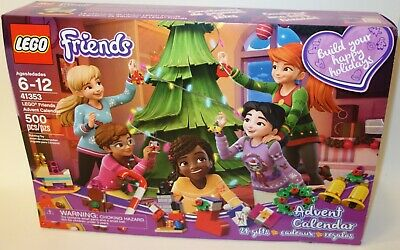 NEW SEALED BOX Lego Friends Advent Calendar 41353 Christmas Orniments MINIDOLLS