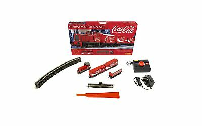 Hornby Hobbies The Coca-Cola Christmas Electric Model Train Set HO Track with...