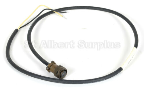 ARMY VEHICLE POWER CABLE / CORD + CONNECTOR - NEW - 119BL03