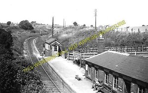 Horsehay Railway Station Photo. Lightmoor - Lawley Bank. Wellington Line. GWR