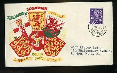 1958 Northern Ireland   3d Regional Illustrated  Cover