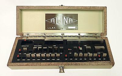 Alina Gauge Block Set 0.1003 - 4.0 High Precision High Quality