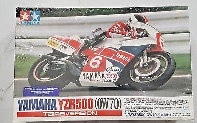 TAMIYA 1/12 YAMAHA YZR-500 TAIRA VERSION SPORT MOTORCYCLE MODEL KIT 14075 F/S