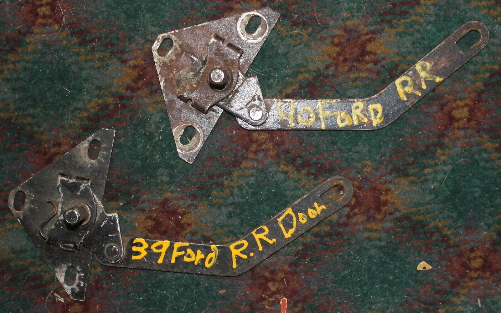1939 1940 Ford Right Rear Door Lock Linkage  - BR