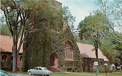 Simsbury Ct Simsbury Methodist Church 1960 Postcard